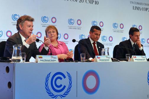 Alianza del Pacífico asume posición común frente al calentamiento global