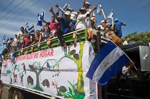 Tormenta por canal de Nicaragua que construirá la China