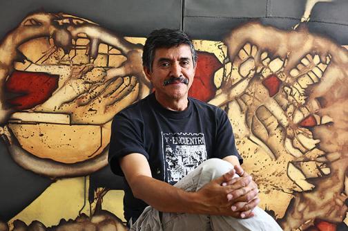 'Vértebra del desierto' se expone en el Museo Rayo