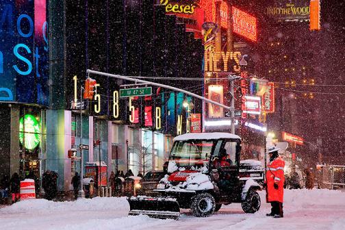 En fotos: Nueva York, arropada por la mayor tormenta de nieve de los últimos años