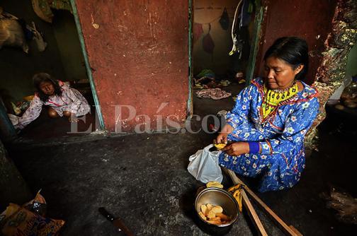 El calvario de los Embera Katío en imágenes