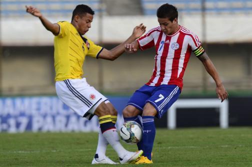 Las mejores imágenes del duelo Colombia vs. Paraguay en Suramericano Sub 20