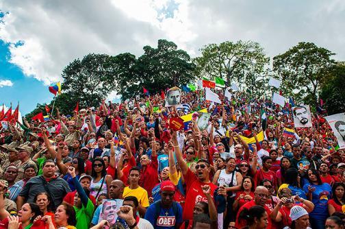 Imágenes: los venezolanos marcharon en conmemoración al fin de la dictadura
