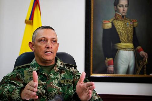 Seis cabecillas de las Farc y ELN fueron abatidos este mes: Comandante del Ejército