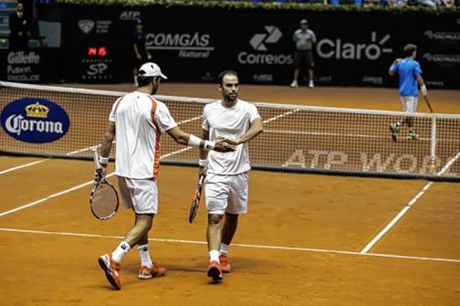Juan Sebastián Cabal y Robert Farah, a cuartos de final en Hamburgo