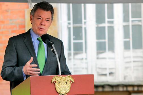 Presidente Santos anuncia plan piloto para combatir la criminalidad en Colombia