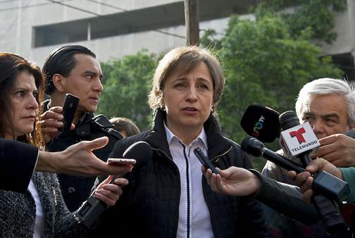 Despedida periodista que desató el escándalo de la mansión de Peña Nieto