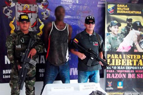 Capturan a presunto miembro del 'Clan Úsuga' en Buenaventura