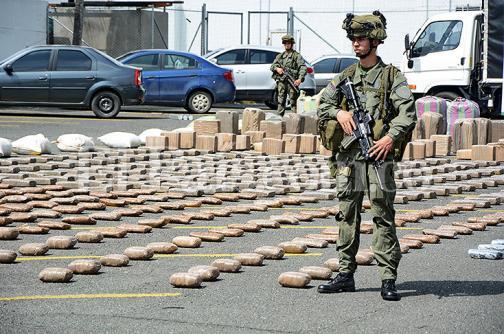 Incautan cuatro toneladas de marihuana en Corinto, Cauca