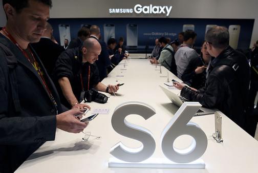 En imágenes: Samsung muestra al mundo su nuevo Galaxy S6