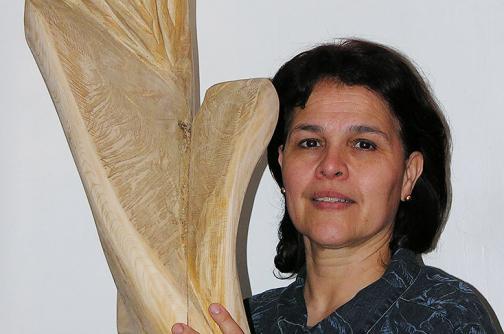 La caleña María Isabel Restrepo expone en Francia sus esculturas
