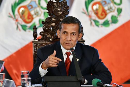 Humala considera que Chile admite espionaje a Perú en mensaje de Whatsapp