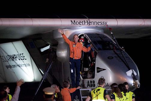 El avión Solar Impulse 2 llega a China
