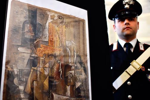 Incautan un Picasso perdido y valorado en 15 millones de euros