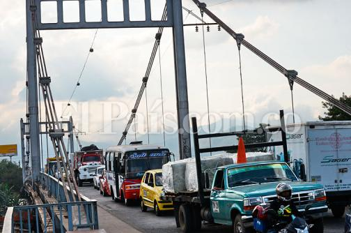 Puente de Juanchito será cerrado el jueves y viernes santo por mantenimiento