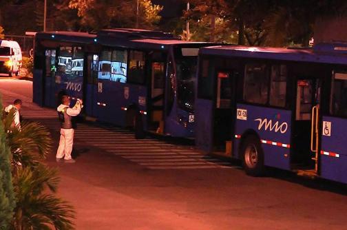 Conductora del MÍO murió al ser arrollada por dos padrones