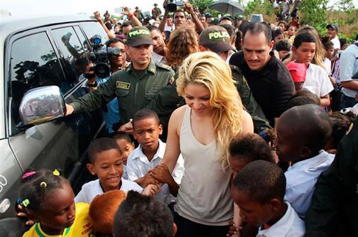 Roban 31 computadores de la Fundación de Shakira