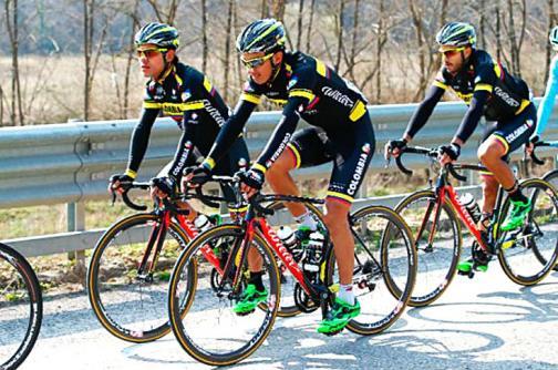 El equipo Team Colombia, invitado a la Vuelta a España