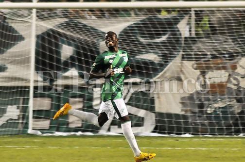 """Deportivo Cali: """"Feliz por marcar mi primer gol como profesional"""", Víctor Arboleda"""