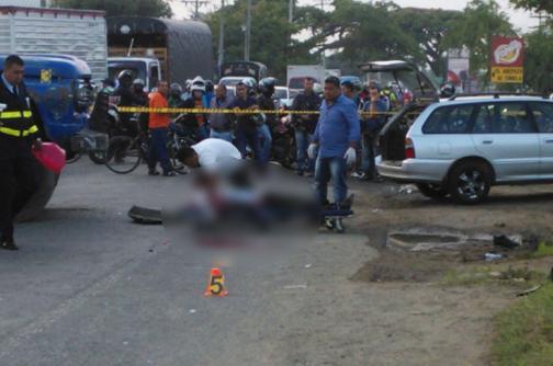Motociclista murió en accidente de tránsito en la vía Candelaria - Cali