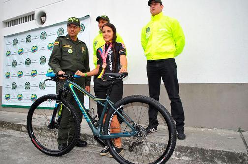 Recuperan bicicleta hurtada a deportista de la Selección Colombia, en Tuluá