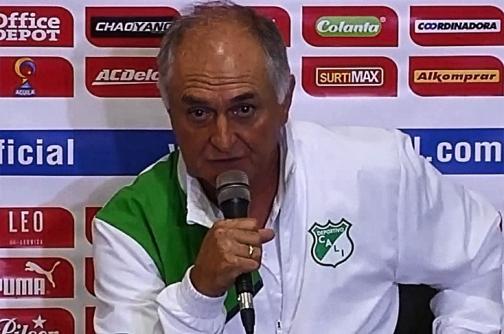 """""""Vamos a buscar el primer lugar"""": 'Pecoso' Castro, DT Deportivo Cali"""