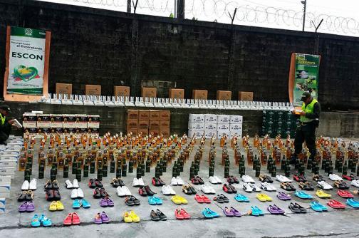 Incautan mercancía de contrabando avaluada en 120 millones de pesos, en Buenaventura