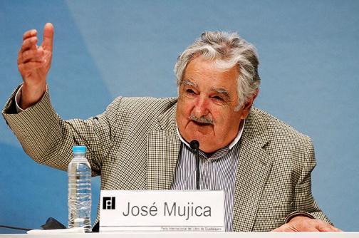 'Pepe' Mujica no estará en marcha por la paz