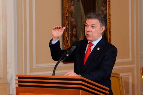 Presidente Santos destacó avances en ciclo de negociación con las Farc