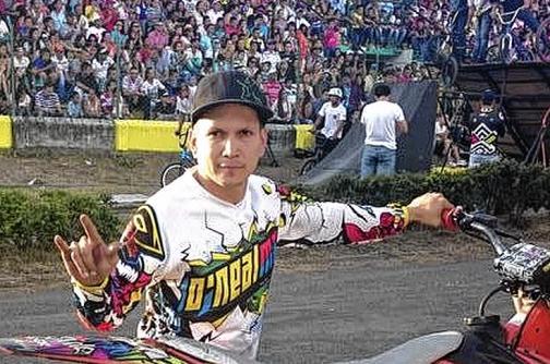 El motocrosista caleño Mauricio Ospina está fuera de peligro