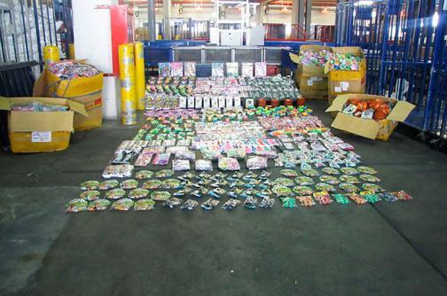 Incautan más de 6 mil millones de pesos en mercancía de contrabando