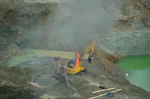 Policía interviene 12 minas ilegales en Buenaventura