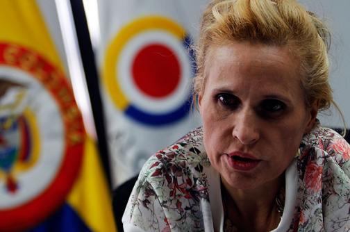 Regresó a Colombia la excontralora Sandra Morelli