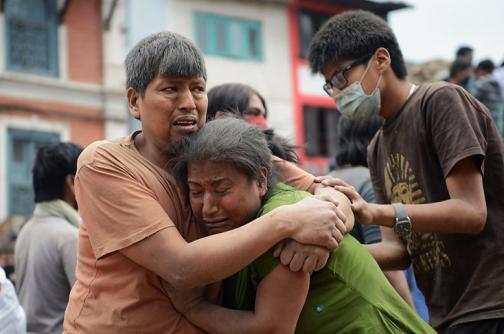 En imágenes: desolación y destrucción en Nepal por fuerte sismo