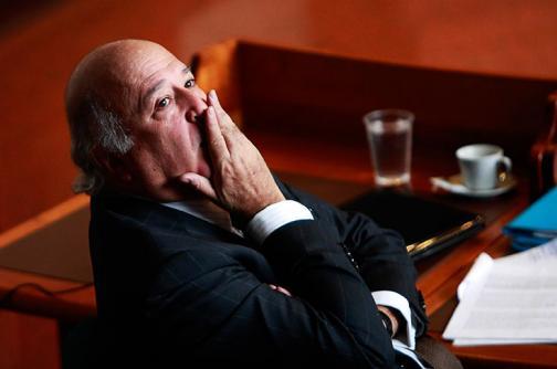 Sabas Pretelt fue recluido en el búnker de la Fiscalía en Bogotá