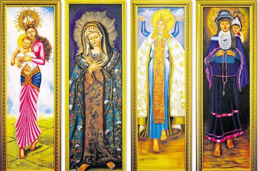 Exposición de imágenes en el Museo Religioso de Cali