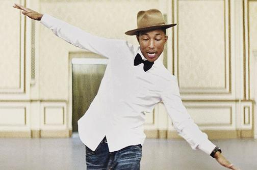 Pharrell Williams, un hombre 'Happy'
