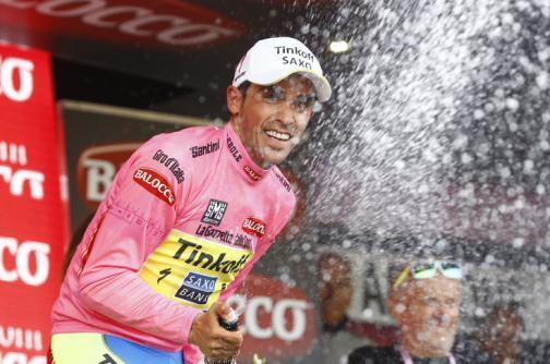 Los colombianos no fueron protagonistas en la etapa del Giro de Italia