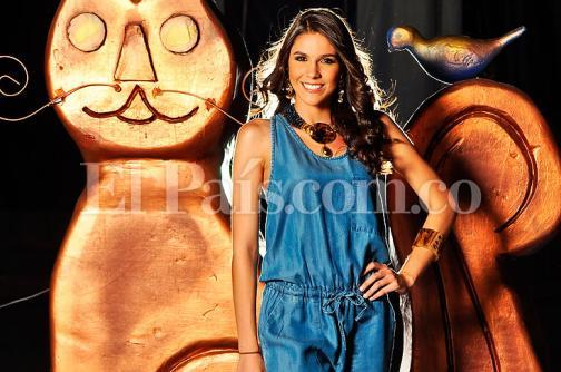 Andrea Echeverri, la candidata de Cali a Señorita Valle, una apasionada del baile