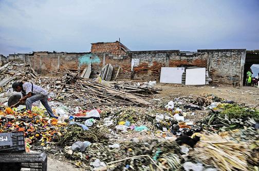 En fotos: así lucen cuatro basureros crónicos de Cali