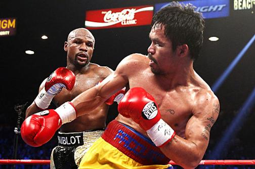 Manny Pacquiao regresó a casa