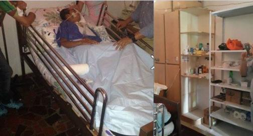Familia del cabo Aguilar logró su traslado a una clínica de Cali