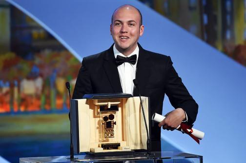 En imágenes: César Acevedo, ganador del premio Cámara de Oro en Cannes