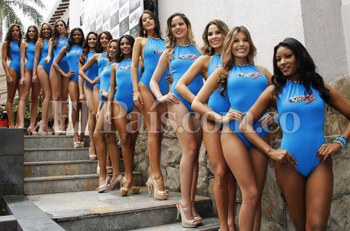 En imágenes: presentación de las candidatas a Señorita Valle en traje de baño