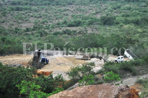 Comenzó la operación de la escombrera regional en Yumbo