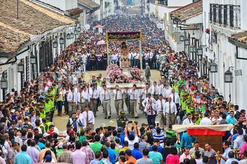 En imágenes: La 'otra' marcha del Día del Trabajo en Popayán