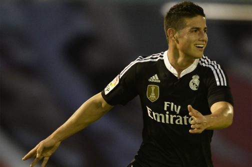 Carlos Bacca anotó gol, pero James Rodríguez ganó el duelo cafetero