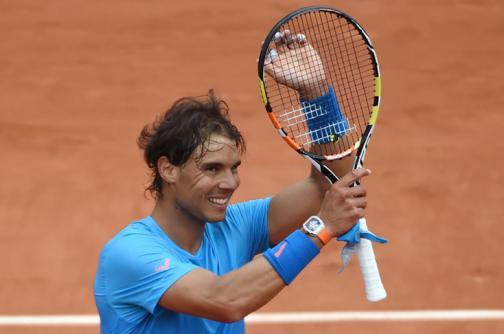 Rafael Nadal regresa a Roland Garros con un triunfo contundente