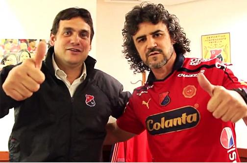 Leonel Álvarez fue oficializado como técnico del DIM