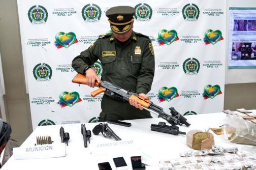 Policía desarticula banda de sicarios en Jamundí